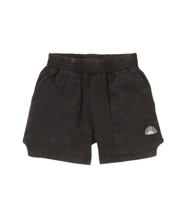 KIDS Rockaway Shorts (Toddler/Little Kids/Big Kids). By Tiny Whales. 40.00. Style Mineral Black.