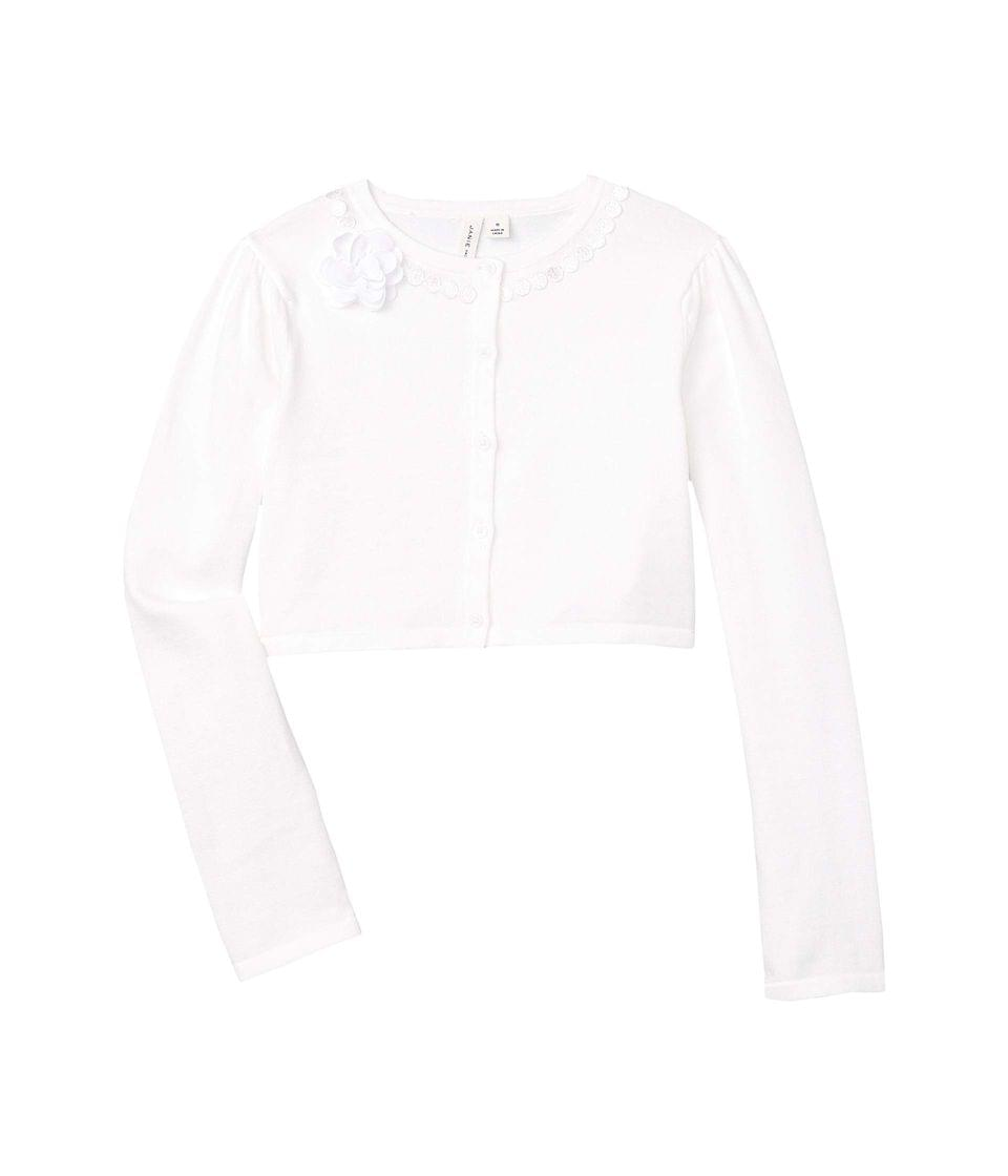 Girl's Flower Cardigan (Toddler/Little Kids/Big Kids). By Janie and Jack. 54.00. Style White.
