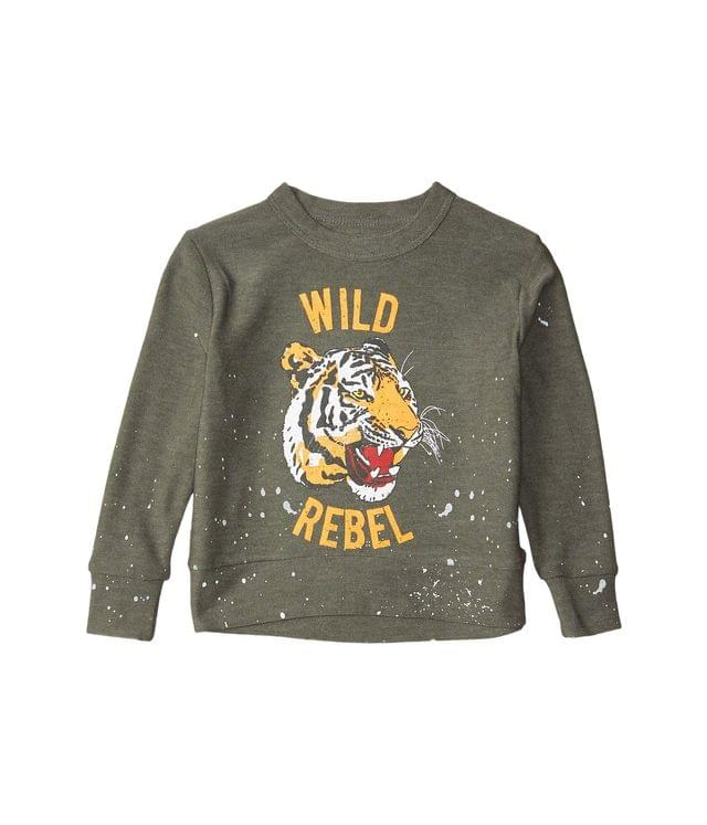 KIDS Wild Rebel Cozy Knit Crew Neck Pullover Sweater (Toddler/Little Kids). By Chaser Kids. 44.00. Style Safari.