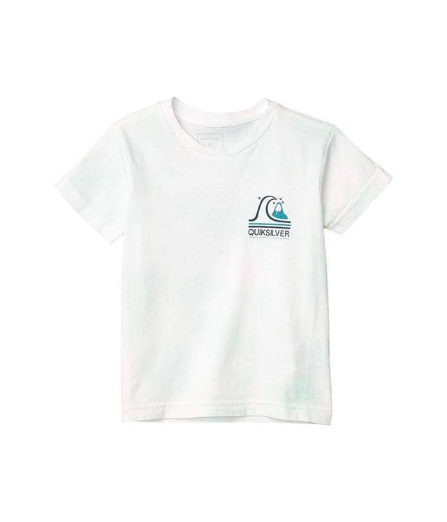 KIDS Global Beat Short Sleeve (Toddler/Little Kids). By Quiksilver Kids. 25.00. Style White.