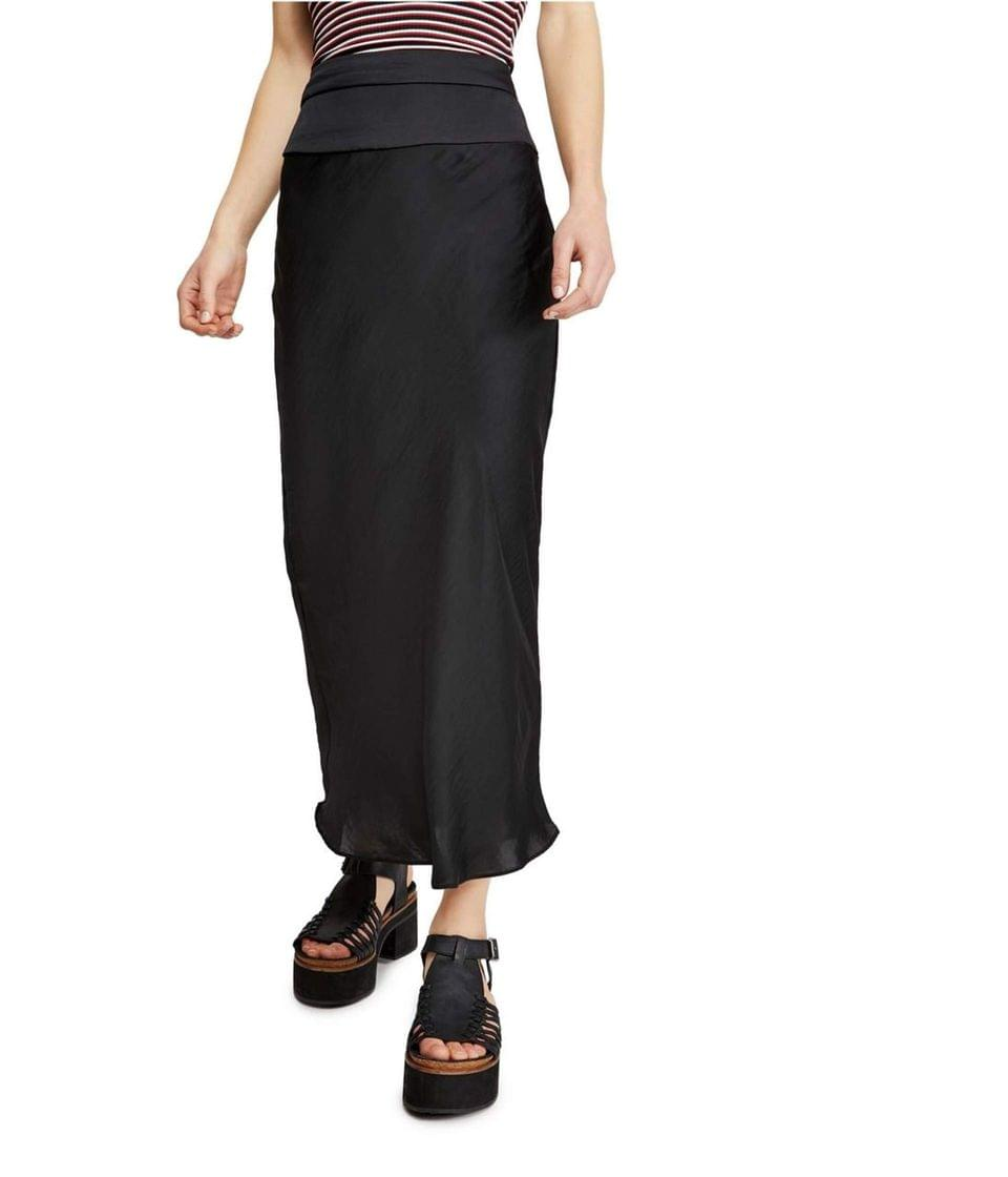 Women's Normani Bias Skirt. By Free People. 78.00. Style Black.
