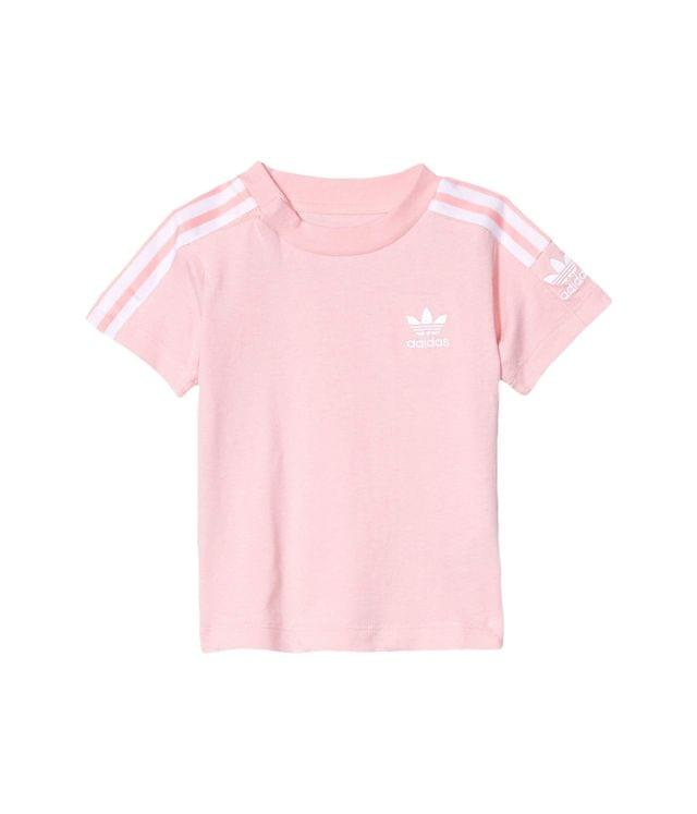 KIDS New Icon Tee (Infant/Toddler). By adidas Originals Kids. 20.00. Style Glory Pink/White.