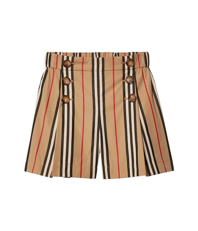 Girl's Tamara Shorts (Little Kids/Big Kids). By Burberry Kids. 180.00. Style Archive Beige IP Stripe.