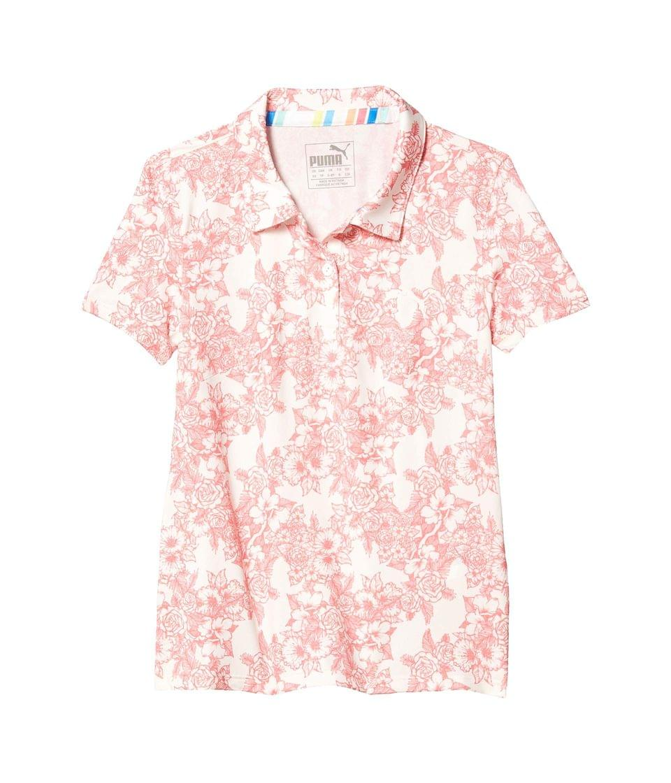 Girl's Floral Polo (Little Kids/Big Kids). By PUMA Golf Kids. 40.00. Style Rosewater.