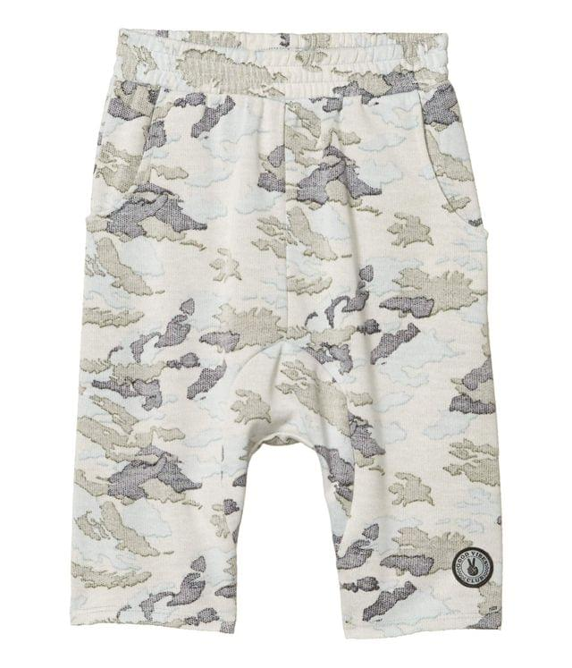 KIDS Good Vibes Army Shorts (Toddler/Little Kids/Big Kids). By Tiny Whales. 40.00. Style Faded Camo.