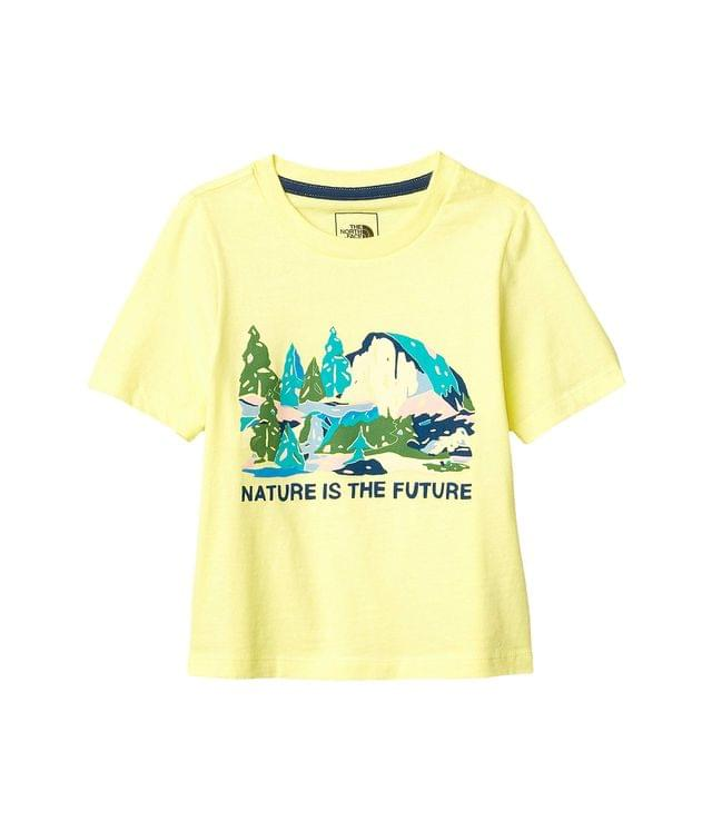 KIDS Short Sleeve Graphic Tee (Little Kids/Big Kids). By The North Face Kids. 21.95. Style Stinger Yellow.