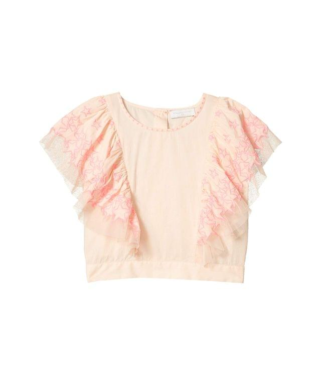 Girl's Crop Top with Stars Embroidery (Toddler/Little Kids/Big Kids). By Stella McCartney Kids. 110.00. Style Pink.