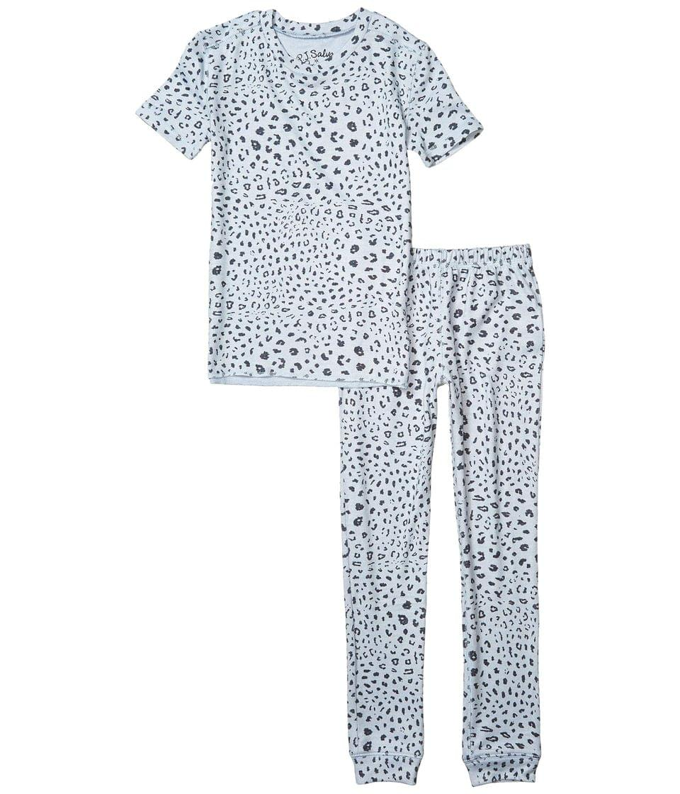 Girl's Animal Print Two-Piece Jammie Set (Toddler/Little Kids/Big Kids). By P.J. Salvage Kids. 49.00. Style Blue.