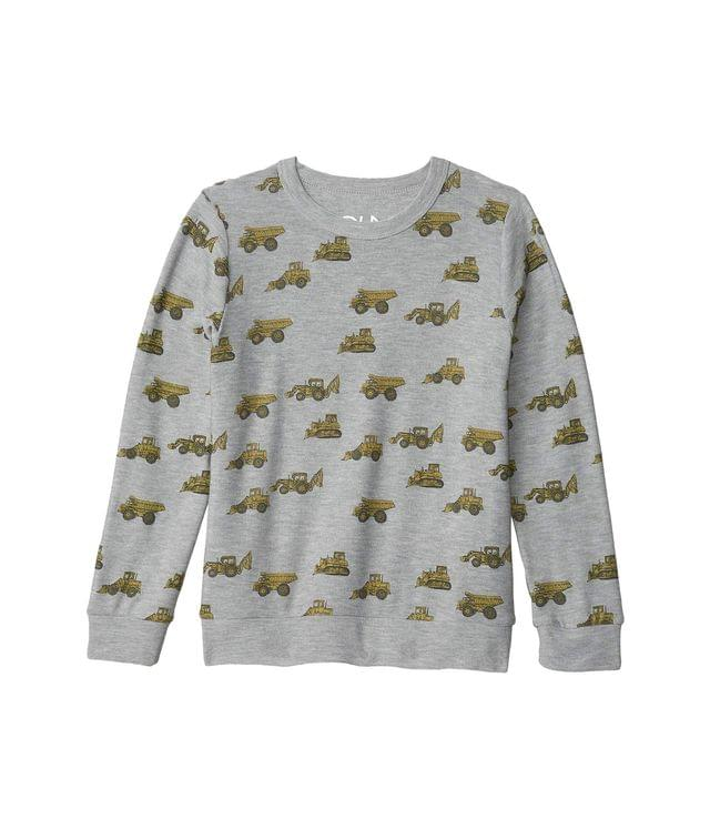 KIDS Tractor Toss Cozy Knit Crew Neck Pullover Sweater (Little Kids/Big Kids). By Chaser Kids. 44.00. Style Heather Grey.