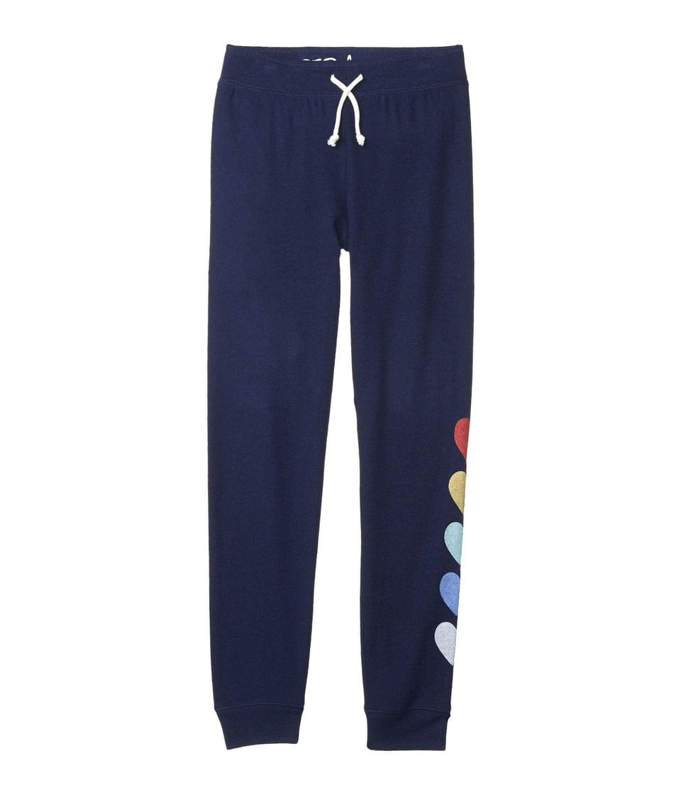Girl's Love For The Weekend Pants (Toddler/Little Kids/Big Kids). By P.J. Salvage Kids. 33.00. Style Navy.