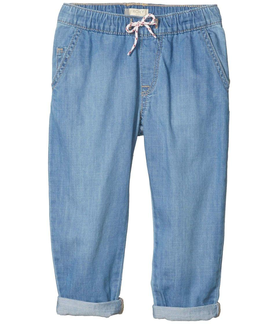 Girl's All I Am Elasticized Relaxed Fit Jeans (Little Kids/Big Kids). By Roxy Kids. 46.00. Style Medium Blue.