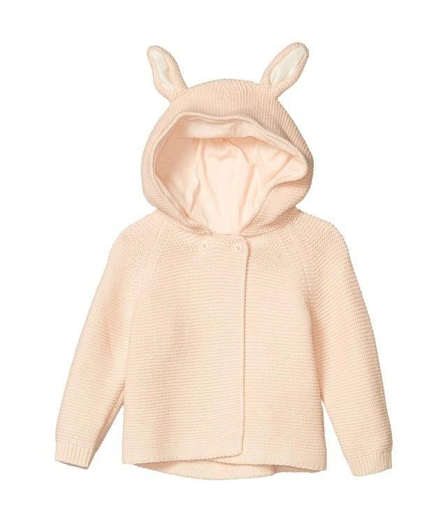 Girl's Knit Hoodie Cardigan with Ears (Infant). By Stella McCartney Kids. 140.80. Style Pink.