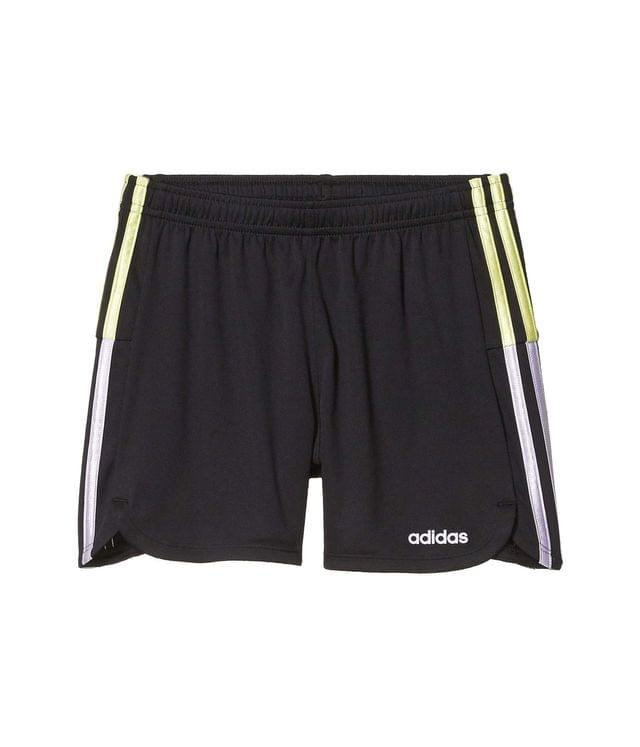 KIDS Clashing Stripe Shorts (Big Kids). By adidas Kids. 25.00. Style Black/Light Purple.