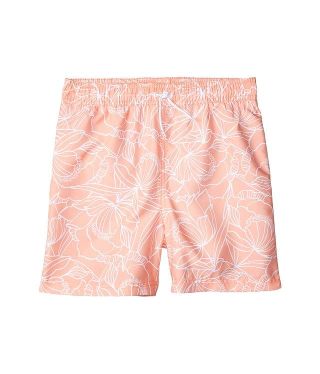 KIDSS Printed Swim Shorts (Toddler/Little Kids/Big Kids). By Janie and Jack. 32.00. Style Orange.