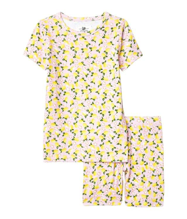 KIDSS Short Sleeve Lemons Sleep Set (Toddler/Little Kids/Big Kids). By crewcuts by J.Crew. 45.00. Style Pink/Yellow.