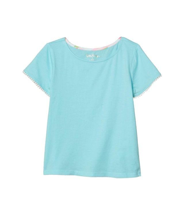 Girl's Jessica Top (Toddler/Little Kids/Big Kids). By Lilly Pulitzer Kids. 36.00. Style Blue Ibiza.