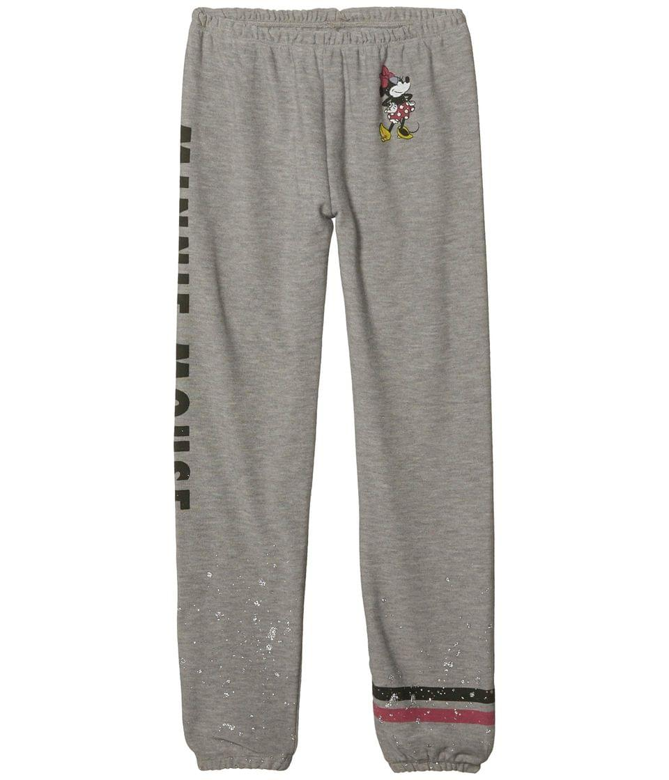Girl's Minnie Mouse Minnie Bow Cozy Knit Lounge Pants (Toddler/Little Kids/Big Kids). By Chaser Kids. 51.00. Style Heather Grey.