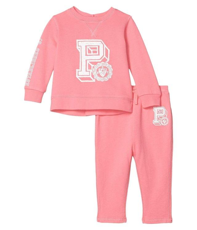 Girl's Graphic French Terry Joggers Set (Infant). By Polo Ralph Lauren Kids. 55.00. Style Lauren Pink.