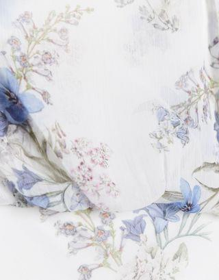 WOMEN Ever New high neck maxi dress in bluebell ivory floral print