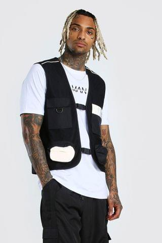Men's Reflective Pockets MAN Dash Utility Vest