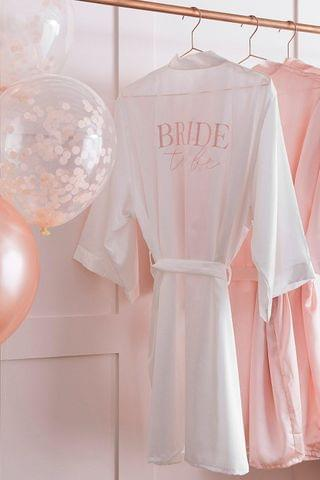 WOMEN Ginger Ray Bride To Be Dressing Gown