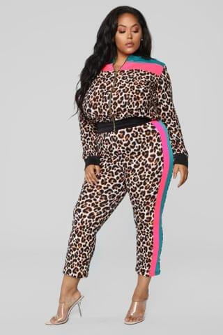 WOMEN The Animal Within Pant Set - Leopard