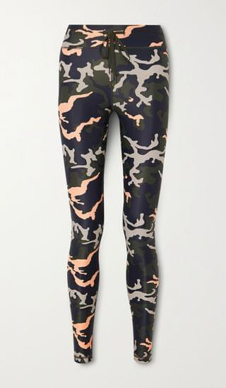 WOMEN THE UPSIDE NYC camouflage-print stretch leggings