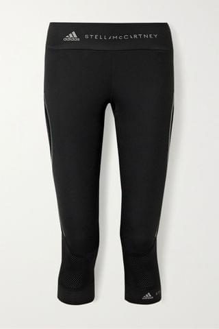 WOMEN ADIDAS BY STELLA MCCARTNEY + Parley for the Oceans Essentials cropped tech-jersey leggings