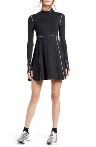 WOMEN Nike x Olivia Kim NRG Long Sleeve Performance Tennis Dress