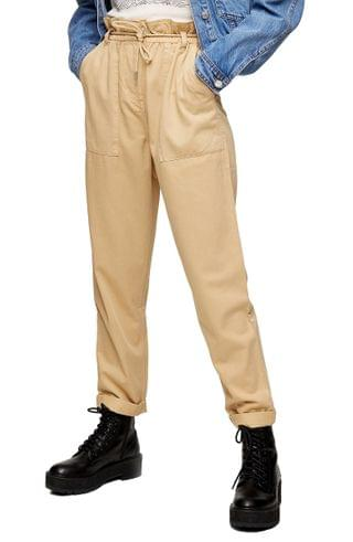Women's Topshop Marl Tapered Trousers