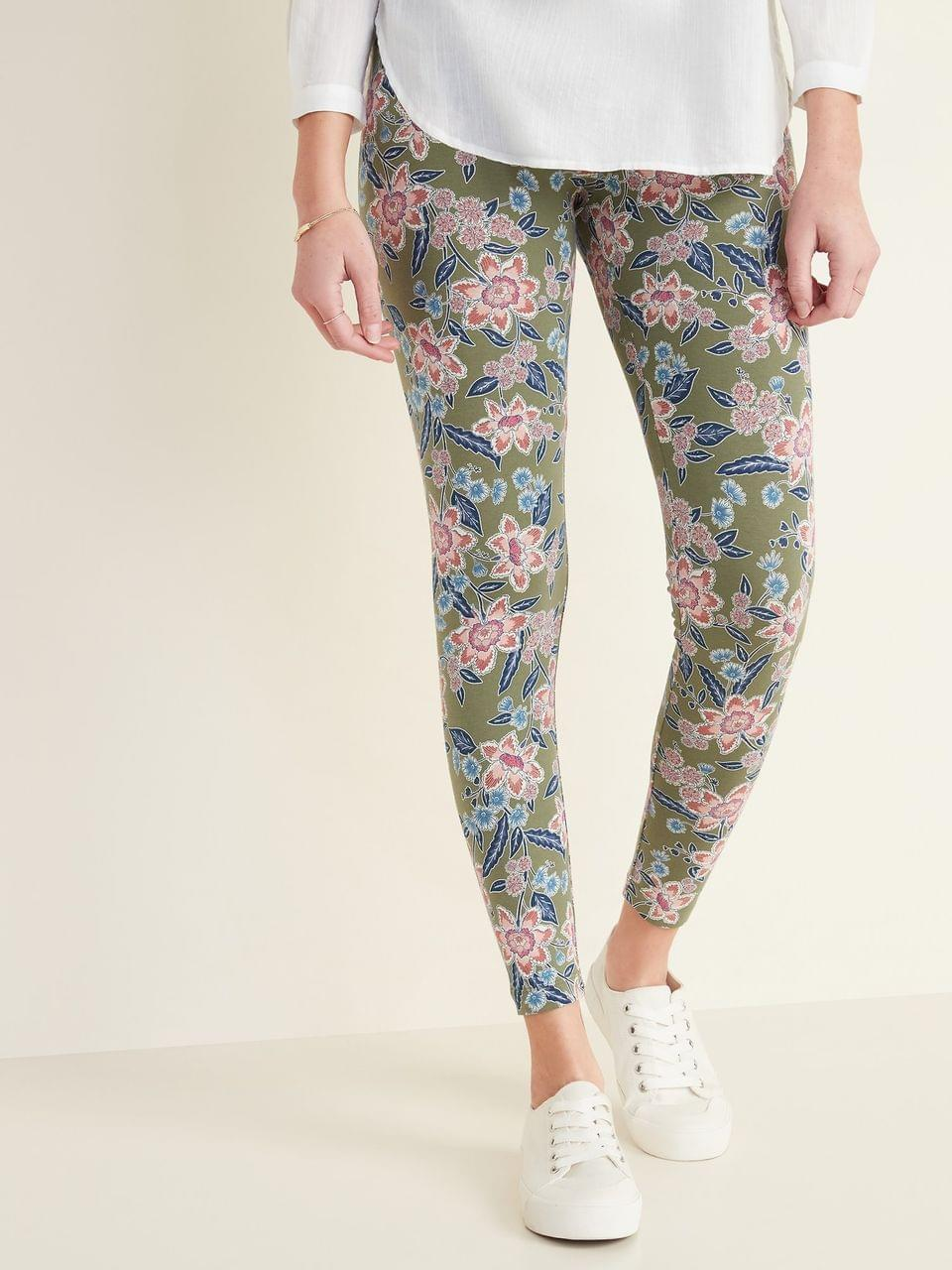 Women's High-Waisted Printed Leggings for Women