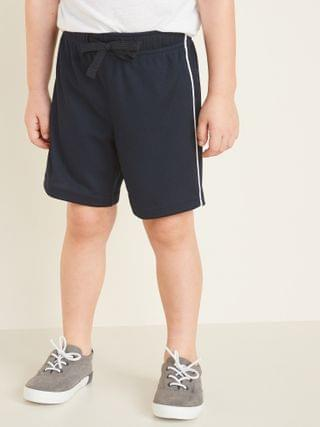 KIDS Mesh Side-Piping Shorts for Toddler Boys