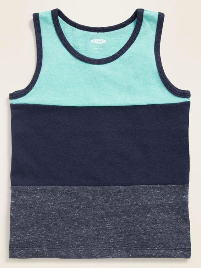 KIDS Color-Blocked Tank Top for Toddler Boys