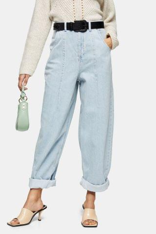Women's IDOL Bleach Seamed Balloon Jeans