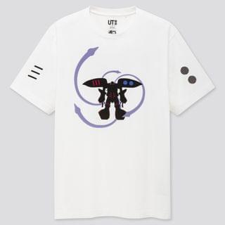 MEN GUNPLA 40TH UT (SHORT-SLEEVE GRAPHIC T-SHIRT)