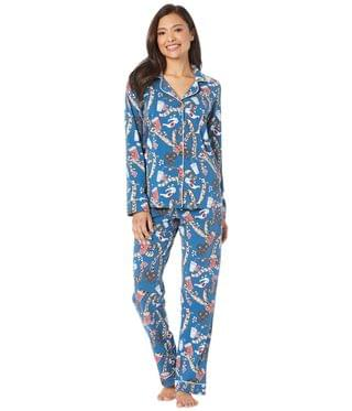 Women's Long Sleeve Classic Notch Collar Pajama Set. By BedHead Pajamas. 140.00. Style Movie Night.