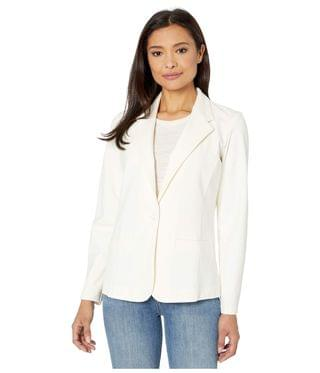 WOMEN Fitted Knit Blazer. By Liverpool. 109.00. Style Egret.