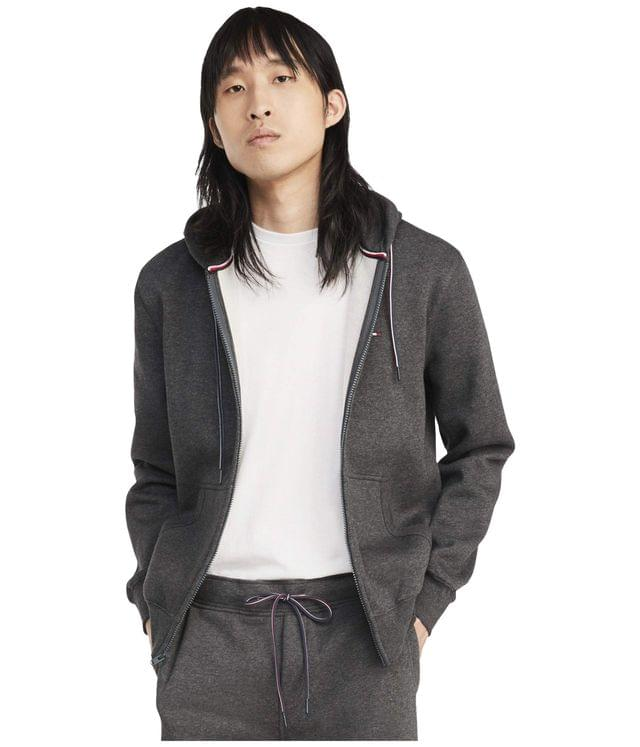 Men's Plains Hoodie Zip-Up Sweatshirt. By Tommy Hilfiger. 89.50. Style Charcoal Grey Heather.