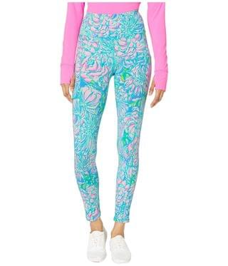 WOMEN High-Rise Leggings. By Lilly Pulitzer. 108.00. Style Multi In Full Bloom.