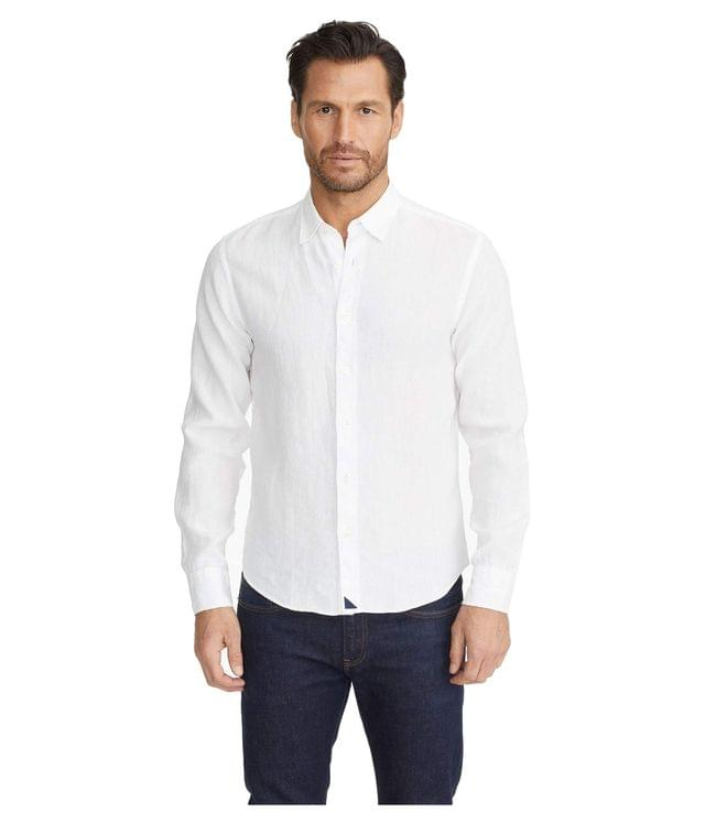 Men's Wrinkle-Resistant Linen Shirt. By UNTUCKit. 99.00. Style White.