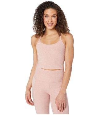 WOMEN Spacedye Slim Racerback Cropped Tank Top. By Beyond Yoga. 66.00. Style Tinted Rose/Pink Quartz. Rated 5 out of 5 stars.
