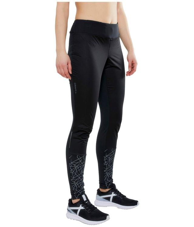 Women's Warm Train Wind Tights. By Craft. 79.99. Style Black/Asphalt.