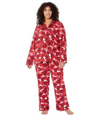 Women's Plus Size Long Sleeve Classic Notch Collar Pajama Set. By BedHead Pajamas. 144.00. Style Marilyn.