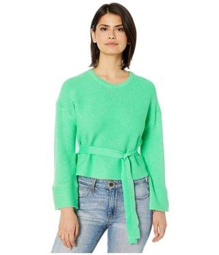Women's Woman In Love Ribbed Belted Sweater. By BB Dakota. 99.00. Style Misty Jade.