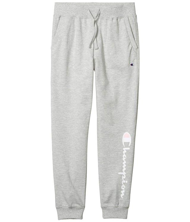 Girl's French Terry Script Joggers (Big Kids). By Champion Kids. 28.00. Style Oxford Heather.