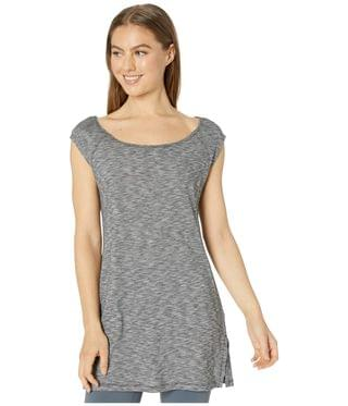 WOMEN Bella Falls Tunic Cover-Up. By Prana. 59.00. Style Black Heather.