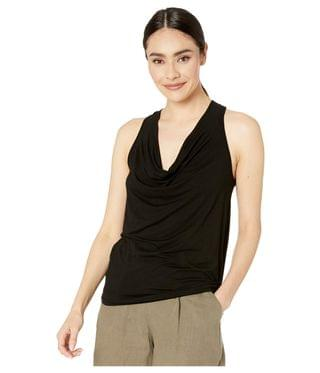 WOMEN Eve Luxe Jersey Cowl Neck Tank Top. By Michael Stars. 72.00. Style Black.