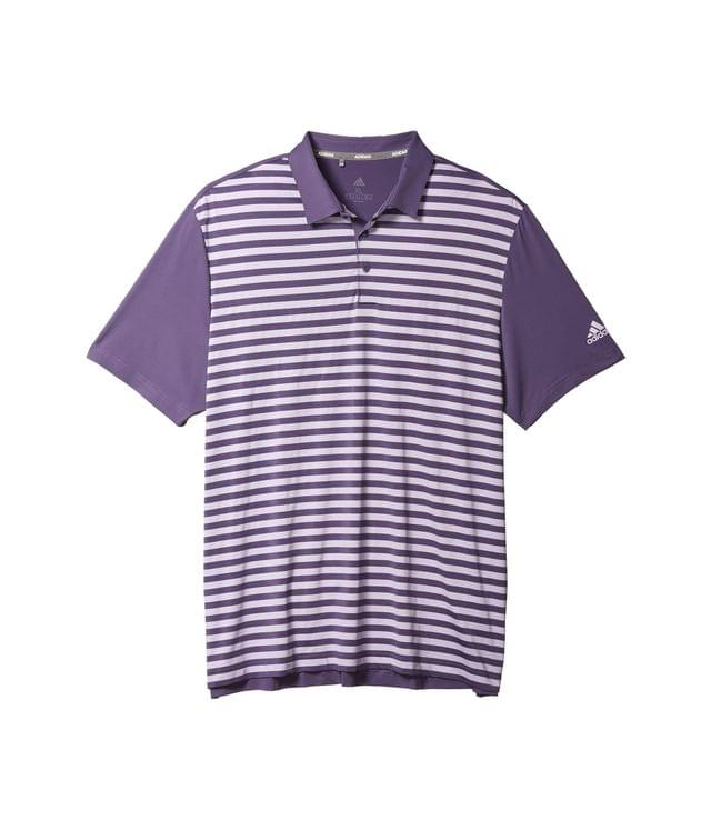 Men's Ultimate365 Wide Stripe Polo Shirt. By adidas Golf. 64.95. Style Tech Purple/Purple Tint.