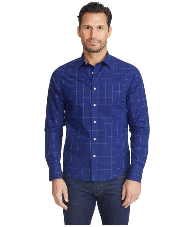 Men's Wrinkle-Free Baracci Shirt. By UNTUCKit. 99.00. Style Navy.