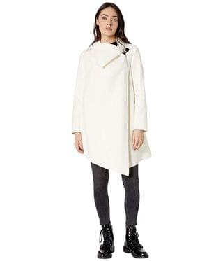 WOMEN Monument Eve Coat. By AllSaints. 315.00. Style Porcelain White.